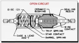 Thermal Cut-Off OPEN CIRCUIT